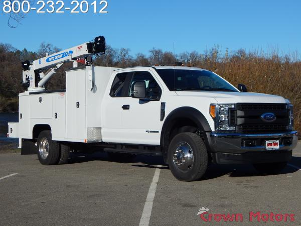 2017 F-550 Super Cab DRW 4x4, Scelzi Mechanics Body #17F1127 - photo 15
