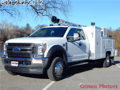2017 F-550 Super Cab DRW 4x4, Scelzi Crane Bodies Mechanics Body #17F1127 - photo 1