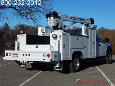 2017 F-550 Super Cab DRW 4x4, Scelzi Crane Bodies Mechanics Body #17F1127 - photo 13