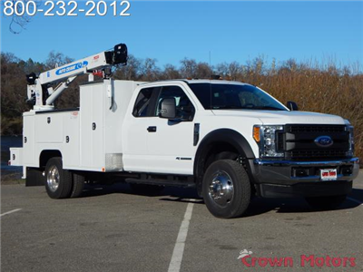 2017 F-550 Super Cab DRW 4x4, Scelzi Crane Bodies Mechanics Body #17F1127 - photo 15