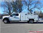 2017 F-550 Super Cab DRW 4x4, Scelzi Crane Bodies Mechanics Body #17F1127 - photo 3