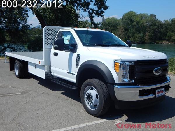 2017 F-550 Regular Cab DRW 4x4, Scelzi Platform Body #17F865 - photo 10
