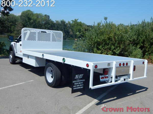 2017 F-550 Regular Cab DRW 4x4, Scelzi Platform Body #17F865 - photo 2