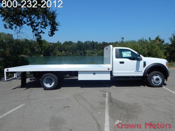 2017 F-550 Regular Cab DRW 4x4, Scelzi Platform Body #17F865 - photo 9