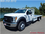 2017 F-550 Regular Cab DRW 4x4, Scelzi Platform Body #17F865 - photo 1