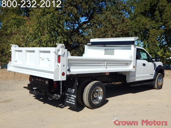 2017 F-550 Super Cab DRW 4x4, Scelzi Dump Body #17F966 - photo 12