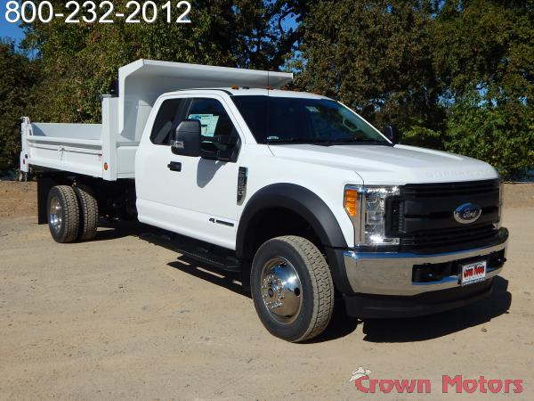2017 F-550 Super Cab DRW 4x4, Scelzi Dump Body #17F966 - photo 14
