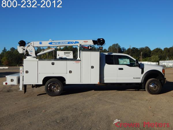 2017 F-550 Super Cab DRW 4x4, Scelzi Mechanics Body #17F968 - photo 14