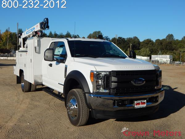 2017 F-550 Super Cab DRW 4x4, Scelzi Mechanics Body #17F968 - photo 16