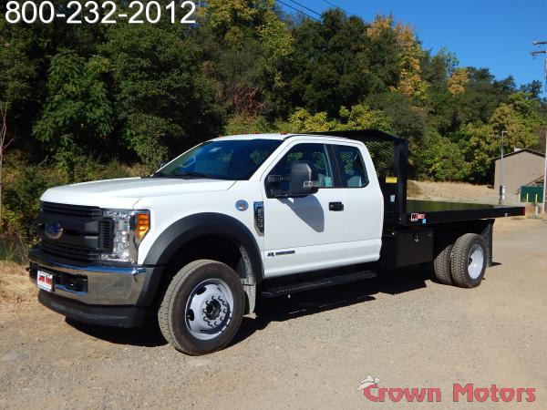 2017 F-550 Super Cab DRW 4x4, Monroe Work-A-Hauler II Platform Dump Body #17F975 - photo 1