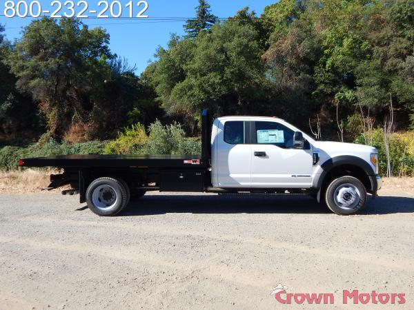 2017 F-550 Super Cab DRW 4x4, Monroe Work-A-Hauler II Platform Dump Body #17F975 - photo 7