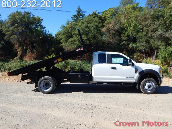 2017 F-550 Super Cab DRW 4x4,  Monroe Dump Body #17F975 - photo 8