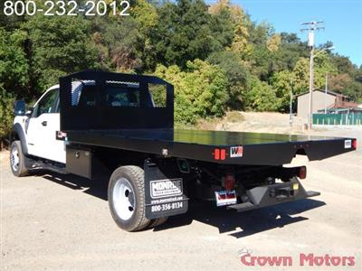 2017 F-550 Super Cab DRW 4x4, Monroe Work-A-Hauler II Platform Dump Body #17F975 - photo 2