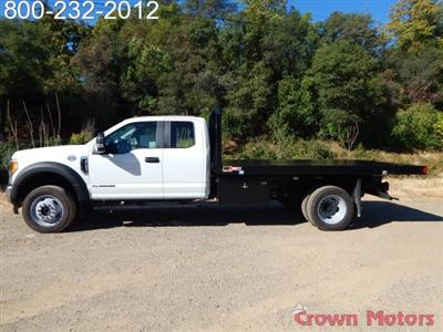 2017 F-550 Super Cab DRW 4x4, Monroe Work-A-Hauler II Platform Dump Body #17F975 - photo 3