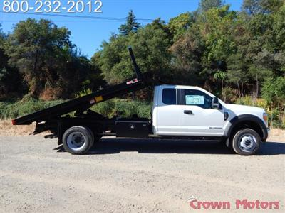 2017 F-550 Super Cab DRW 4x4, Monroe Work-A-Hauler II Platform Dump Body #17F975 - photo 8