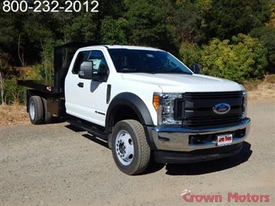 2017 F-550 Super Cab DRW 4x4, Monroe Work-A-Hauler II Platform Dump Body #17F975 - photo 9