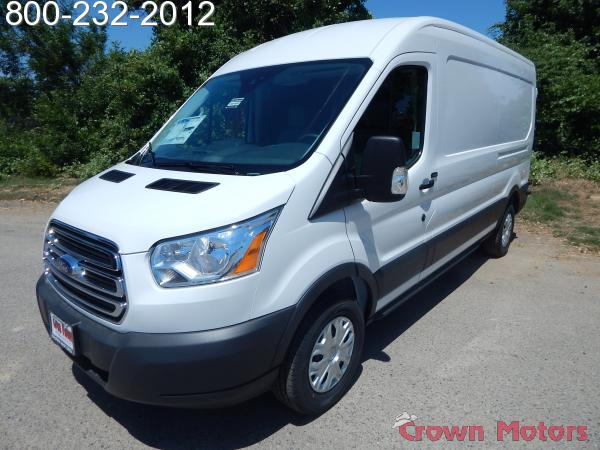 2018 Transit 250 Med Roof 4x2,  Empty Cargo Van #18F580 - photo 1