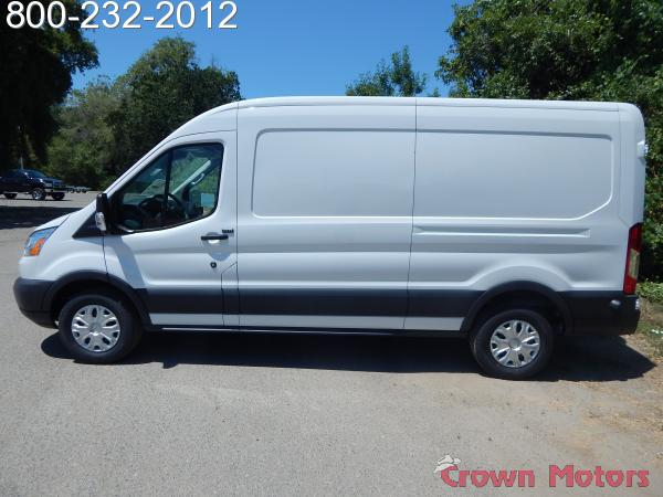 2018 Transit 250 Med Roof 4x2,  Empty Cargo Van #18F580 - photo 4
