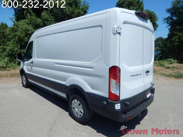 2018 Transit 250 Med Roof 4x2,  Empty Cargo Van #18F580 - photo 7