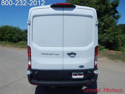 2018 Transit 250 Med Roof 4x2,  Empty Cargo Van #18F580 - photo 6