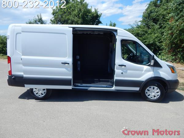 2018 Transit 250 Med Roof 4x2,  Empty Cargo Van #18F581 - photo 10