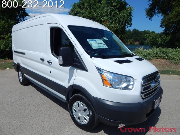 2018 Transit 250 Med Roof 4x2,  Empty Cargo Van #18F581 - photo 12