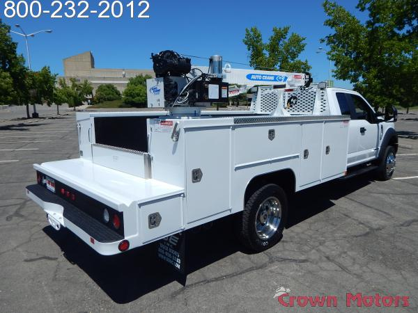 2018 F-550 Super Cab DRW 4x4,  Scelzi Mechanics Body #18F639 - photo 14