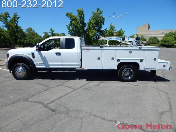 2018 F-550 Super Cab DRW 4x4,  Scelzi Mechanics Body #18F639 - photo 3