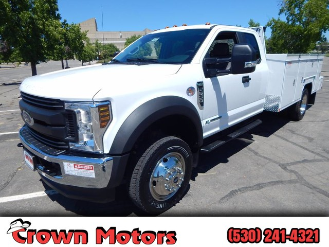 2018 F-550 Super Cab DRW 4x4,  Scelzi Signature Mechanics Body #18F639 - photo 1