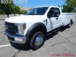 2018 F-550 Super Cab DRW 4x4,  Scelzi Mechanics Body #18F639 - photo 1