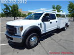 2018 F-550 Crew Cab DRW 4x4,  Scelzi Combo Bodies Combo Body #18F641 - photo 1