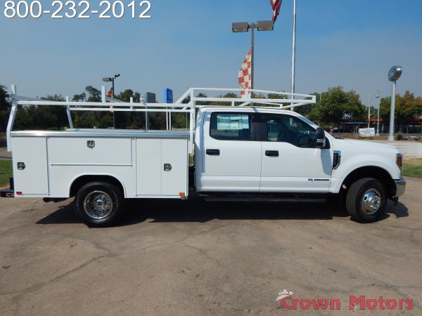 2018 F-350 Crew Cab DRW 4x4,  Harbor Service Body #18F795 - photo 14