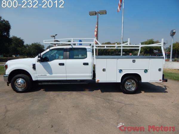 2018 F-350 Crew Cab DRW 4x4,  Harbor Service Body #18F795 - photo 4