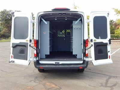 2018 Transit 250 Med Roof 4x2,  Harbor General Service Upfitted Cargo Van #18F841 - photo 2