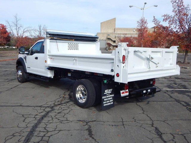 2019 F-550 Super Cab DRW 4x4,  Scelzi Dump Body #19F090 - photo 8