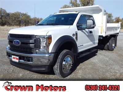 2019 F-550 Super Cab DRW 4x4,  Scelzi Dump Body #19F090 - photo 1