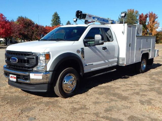 2020 Ford F-550 Super Cab DRW 4x4, Scelzi Crane Body 7000# AutoCrane #20F744 - photo 1