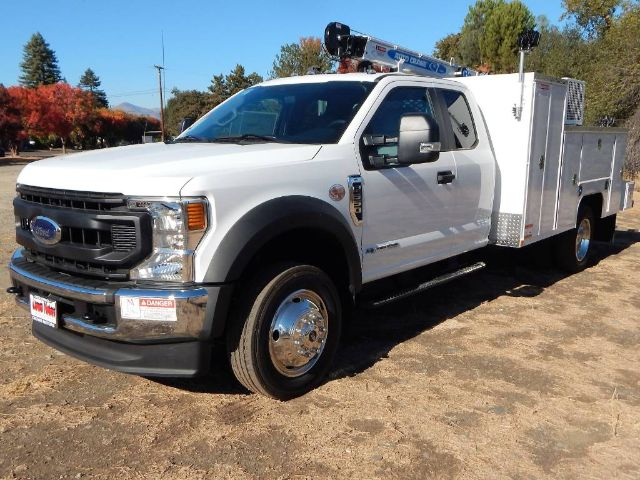 2020 Ford F-550 Super Cab DRW 4x4, Scelzi Western Crane Body with 7000# AutoCrane #20F752 - photo 1