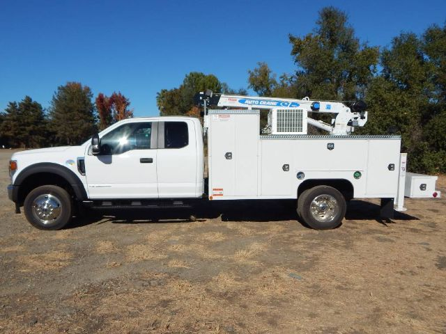 2020 Ford F-550 Super Cab DRW 4x4, Scelzi Western Crane Body with 7000# AutoCrane #20F752 - photo 4