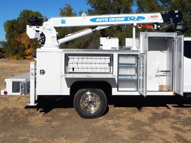 2020 Ford F-550 Super Cab DRW 4x4, Scelzi Western Crane Body with 7000# AutoCrane #20F752 - photo 28