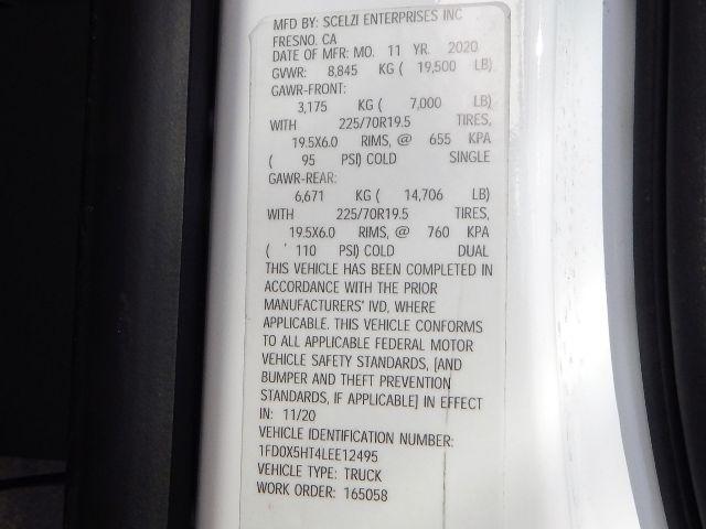2020 Ford F-550 Super Cab DRW 4x4, Scelzi 11ft Service Body with 3200# AutoCrane #20F764 - photo 51