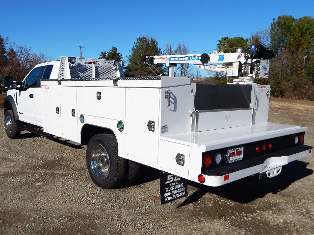 2020 Ford F-550 Super Cab DRW 4x4, Scelzi 11ft Service Body with 3200# AutoCrane #20F764 - photo 1