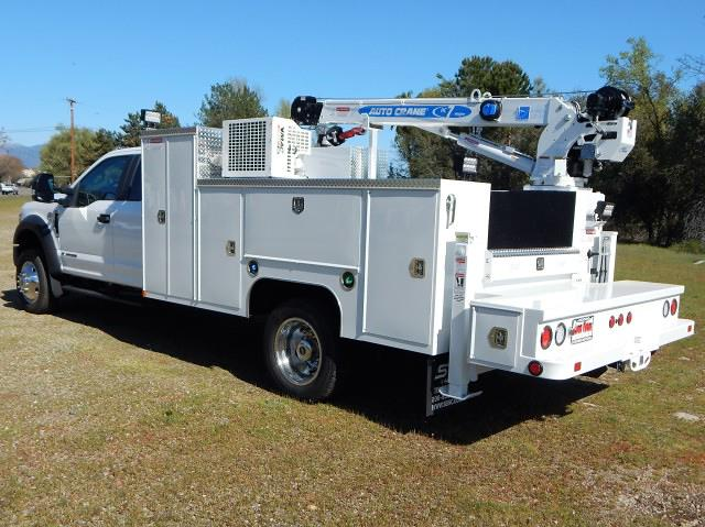 2020 Ford F-550 Super Cab DRW 4x4, Scelzi 11ft Western Crane Body, 7000# AutoCrane #20F856 - photo 1