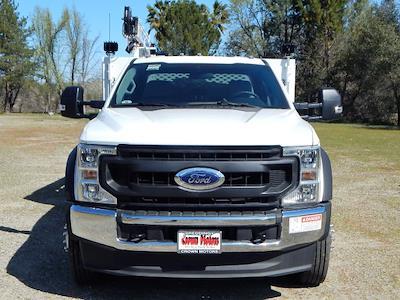2020 Ford F-550 Super Cab DRW 4x4, Scelzi 11ft Western Crane Body, 7000# AutoCrane #20F856 - photo 36