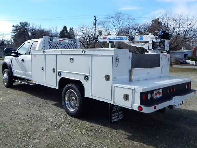 2021 Ford F-550 Super Cab DRW 4x4, Scelzi 11ft Service Body with 3200# AutoCrane #21F131 - photo 1