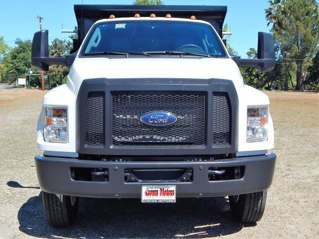 2021 Ford F-650 Regular Cab DRW 4x2, Enoven 5-7yd Dump Body #21F316 - photo 17