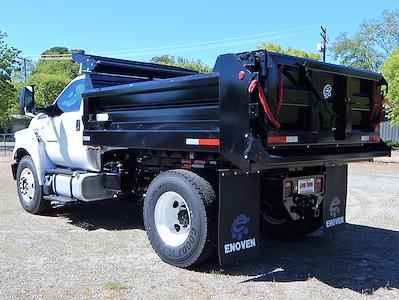 2021 Ford F-650 Regular Cab DRW 4x2, Enoven 5-7yd Dump Body #21F316 - photo 30