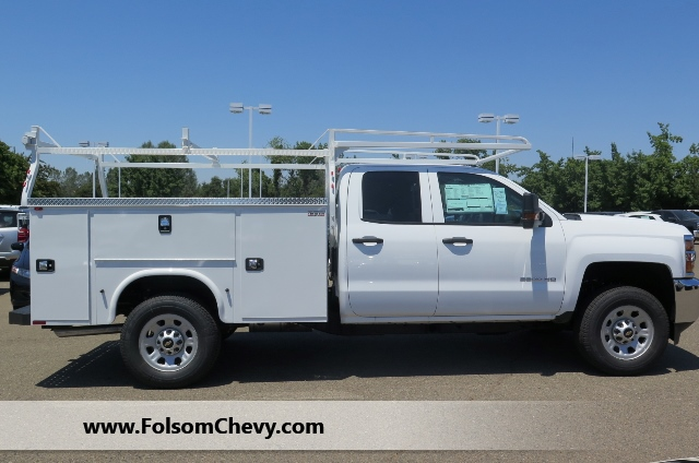 2017 Silverado 3500 Double Cab, Knapheide Service Body #71119F - photo 5