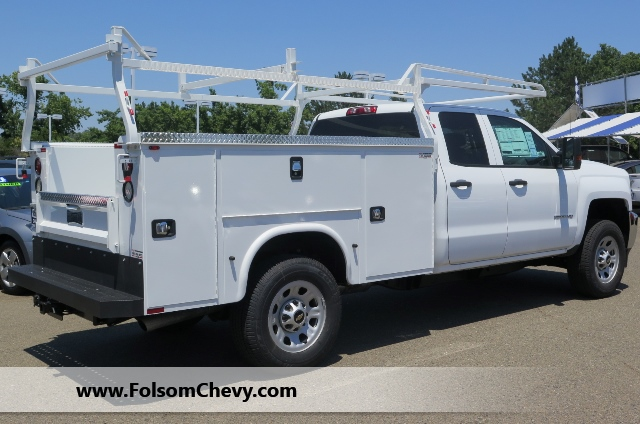 2017 Silverado 3500 Double Cab, Knapheide Service Body #71119F - photo 2