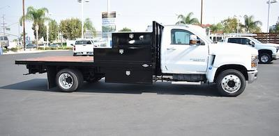 2021 Silverado 6500 Regular Cab DRW 4x2,  Custom Truck Body & Equipment, Inc. Flatbed Platform Body #F21115 - photo 2